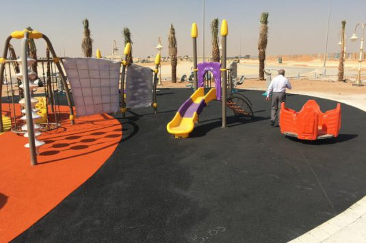 Gardens playground Project – External Gym for First Andareen company
