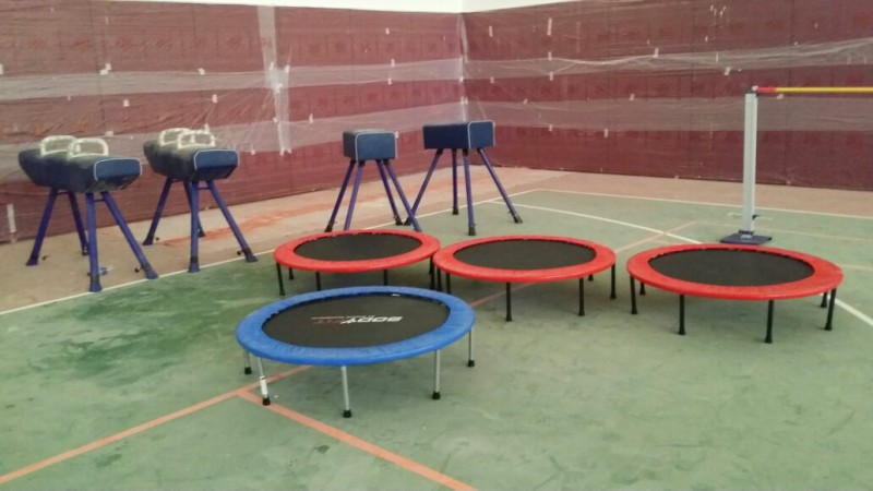 sports equipment in schools